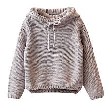 HANANei Toddler Kids Baby Girls Knitted Sweater ... - Amazon.com