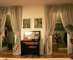 closet door ideas curtain. 5 Ways To Decorate Your Closet Doors Door Ideas Curtain