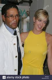 Bryant Gumbel And Hillary Gumbel Banque d'image et photos - Alamy