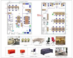 office plan interiors. Office Plan With Product Detail Interiors A