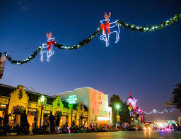 Grapevine Lights Grapevine Parade Of Lights 2019 In Texas Dates Map