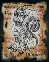 cthulhu larp necronomicon fragment alhazred by zarono on etsy