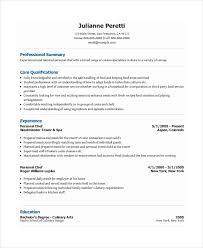 Personal Resume Examples Impressive Personal Resume Template 28 Free Word PDF Document Download