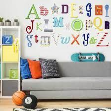 alphabet wooden wall letters full set