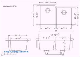 standard undermount sink size awesome kitchen depth