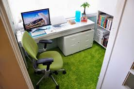 green ideas for the office. Elegant Green Office Ideas On Chair And Floor Rug With White Desk For The \