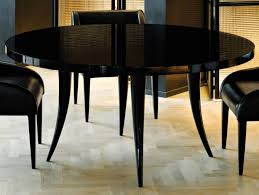 nella vetrina sabre modern italian round black wood dining table with regard to black lacquer dining