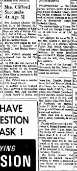LAVONNE SMITH CLIFFORD Obit 1970 - Newspapers.com