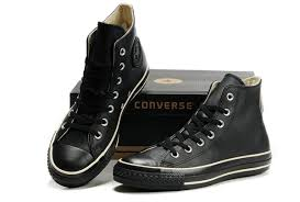 converse all star leather. converse all star high tops black leather