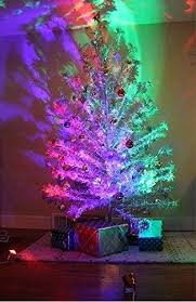 Silver Tree With Color Wheel Christmas Damnfit