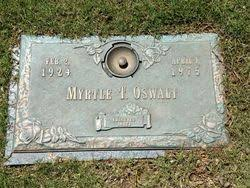 Myrtle Thelma Rhodes Oswalt (1924-1975) - Find A Grave Memorial