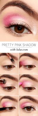 best eyeshadow tutorials pretty pink eyeshadow tutorial easy step by step how to for