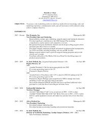 What To Put In Objective On Resume Good Objectives For Effective