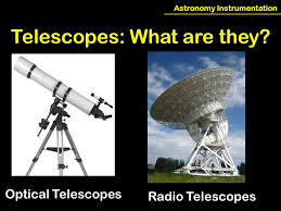 a radio telescope and an optical telescope of the same size have the same angular resolution astronomy instrumentation astronomy summer school for west africa