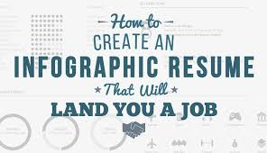 Creating A Good Resume How To Create An Infographic Resume That Will Land You A Job