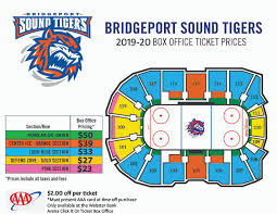 Seating Charts Webster Bank Arena