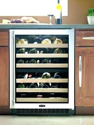 under cabinet wine cooler under cabinet wine refrigerator good wine coolers best under counter wine coolers