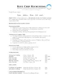 Objectives In Resume For It Objective Resume Criminal Justice O ...