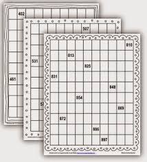 Hundreds Pocket Chart Replacement Cards Pocket Chart Number Cards To 1 000 Math Coachs Corner