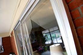 Broken Glass Patio Door! What Do I Do?   Mobile Screen and Glass ...