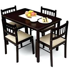 wonderfull dining table sets 4 chairs glass chair set stylish design bright trendy architecture round dining