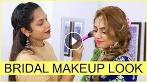 indian bridal makeup tutorial for
