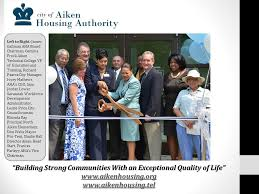 """Building Strong Communities With an Exceptional Quality of Life"""" Left to  Right: James Gallman AHA Board Chairman, - ppt download"""