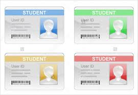 Blank School Id Template 38 Id Card Templates Psd Eps Png Free Premium Templates