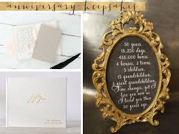 gifts for golden wedding anniversary. 50th wedding anniversary gifts and keepsakes for golden d