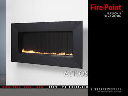Caminetti Moderni A Gas : Fire point athos superlativefires caminetti moderni camini e