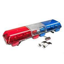 wolo lighting. Wolo 7715-BR LED Emergency Warning Light Bar - Red \u0026 Blue Lens, Roof Lighting