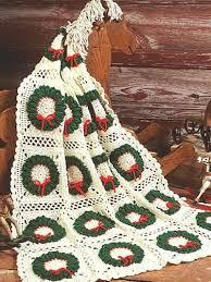 Christmas Crochet Afghan Patterns
