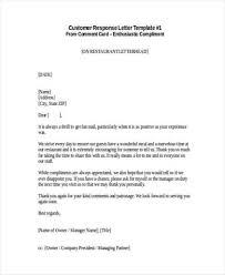 Complaints Letter Format 7 Complaint Response Letters Find Word Letters