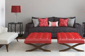 Designer Decorative Pillows For Couch Contemporary Red Couch Decorating Ideas And The Beautiful Interior 88