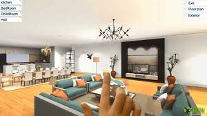 Small Picture 360 Virtual Reality Interior application experience for touch