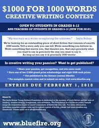 the leyla beban young authors foundation for  submissions closed for our 2018 1 000 for 1 000 words creative writing contest stay tuned for results and in the meantime keep on writing