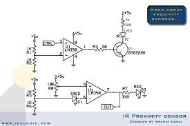 rpm contact less digital tachometer com the modified ir proximity sensor this schematic