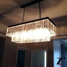 rectangular glass drop chandelier rectangular glass drop chandelier full image 40 inch rectangular glass drop crystal