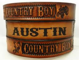 kids name belt country boy