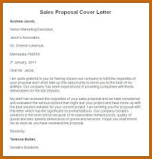 3 Sales Proposal Letter Template Sample Business For Pdf Of ...