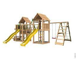 wooden garden play equipment paradise 9