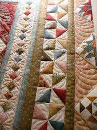 Best 25+ Quilt border ideas on Pinterest | Quilting tutorials ... & Beautiful idea for patchwork quilt borders - I love the four-patch-on-point  idea, and the pinwheels. (Part of an Eye Candy Pattern, I think. Adamdwight.com
