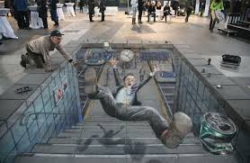 Amazing 3d Sidewalk Chalk Art Album On Imgur