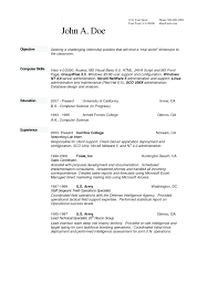Business Resume And Cover Letter Resume And Letter Sample Resume And