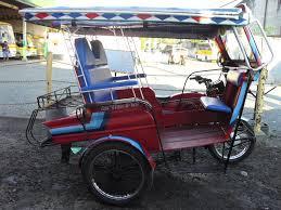 Pedicab Sidecar Design Dumaguete Transport