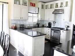 off white kitchen cabinets and granite countertops saomc co