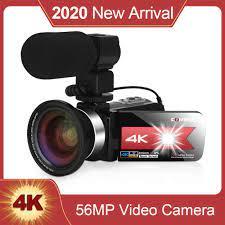 KOMERY NEUE Ankunft Video Kamera Camcorder für Youtube 4K 56MP Touchscreen  Nachtsicht hd Recorder WiFi Video Digital kamera|Consumer Camcorders