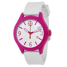 esq watches luxury watches perfect styles esq movado unisex esq one pink white watch clearance