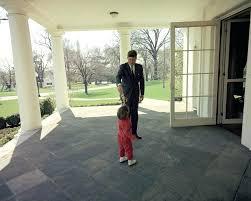 john f kennedy oval office. Kennedy Oval Office Photo President John F With Jfk Jr Outside New 8x10 H