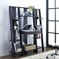 ladder desk with shelves um size of computer leaning computer desk ladder shelf collection rustic shelves ladder desk